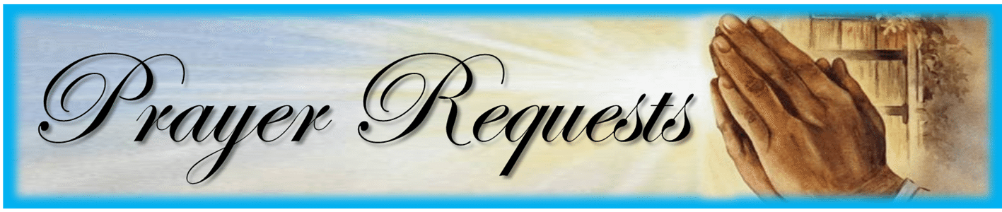 Prayer Requests Listings | HouseofHopePrisonMinistry org